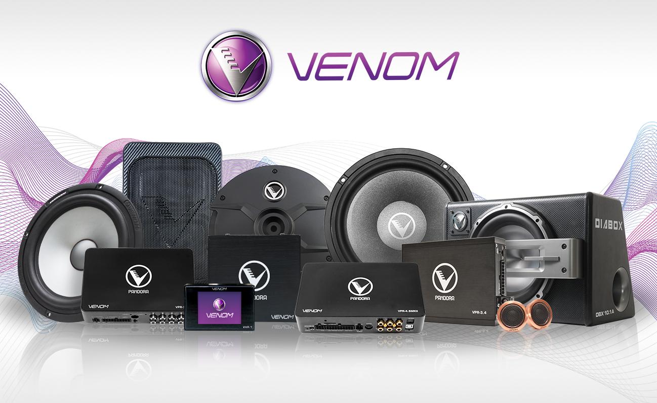 venom audio web